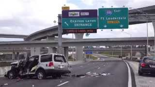 Download Deadly SUV Rollover on I-75 Video