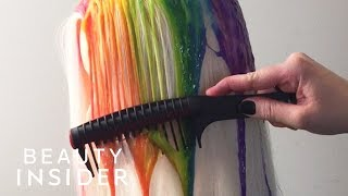 Download Dripping Dye Is The New Way To Color Hair Video