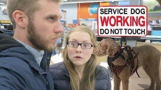 Download BLACK FRIDAY SERVICE DOG CHALLENGE! (11.24.16) Video