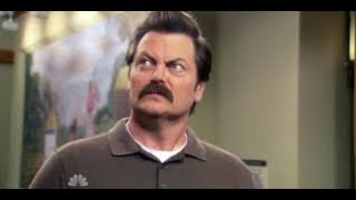 Download Ron Swanson Quotes as read by me. A man who looks sorta like Ron Swanson. Video