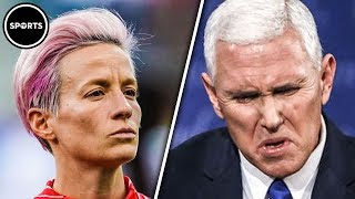 Download Gay Female Soccer Star Tells Mike Pence To P*** OFF Video