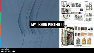 Download My University Entry Portfolio for Architecture School Video