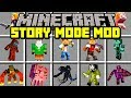 Download Minecraft STORY MODE: SEASON 3 MOD! | NEW WITHER STORM BOSS, CHARACTERS, & MORE! | Modded Mini-Game Video