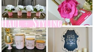 Download Home Decor Haul + Styling Video