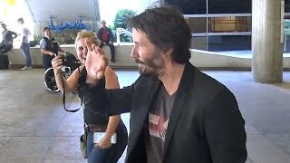 Download Keanu Reeves Arrives At LAX Looking Handsome, Part 2 Video