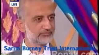Download Sarim Burney ShelterHome Bride dedicates Poem to Sarim Burney at Nida yasir show Video