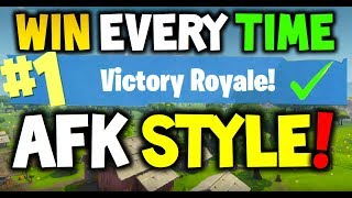 Download How to win every time AFK STYLE : FORTNITE Battle Royale! - Xbox One, Playstation 4 or PC - SEASON 3 Video