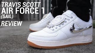 Download TRAVIS SCOTT AIR FORCE 1 SAIL REVIEW & ON FEET Video
