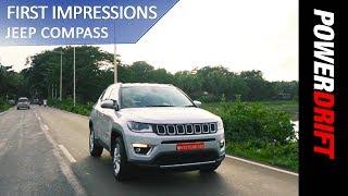 Download Jeep Compass - First Drive : PowerDrift Video