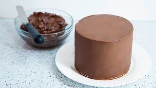 Download HOW TO COVER A CAKE WITH CHOCOLATE GANACHE Video