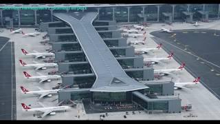 Download İstanbul Havalimanı / Istanbul Airport Havadan Görüntülendi Video