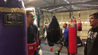 Download Mexican Olympian Lindolfo Delgado already back in camp after his impressive win Video