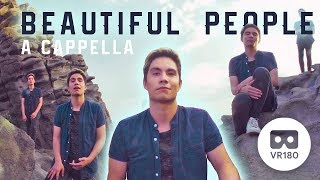 Download Beautiful People (Ed Sheeran + Khalid) A Cappella Cover in VR180! | Sam Tsui Video