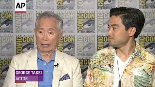 Download Takei went back to childhood with new series 'The Terror: Infamy' Video