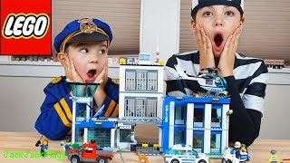Download Lego City Police Station - Costume Pretend Play + Playing with Legos Video