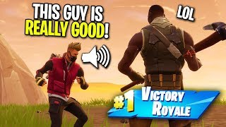 Download PRETENDING TO BE A NOOB AND THEN CARRYING A STREAMER ON FORTNITE! (Surprised Him On STREAM!) Video