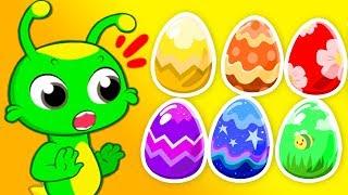 Download Groovy Le Martien - Chasse aux œufs de Pâques avec jouets surprises pour les enfants ! Video