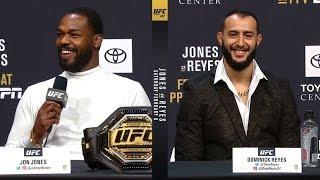 Download UFC 247: Jones vs Reyes Press Conference Video
