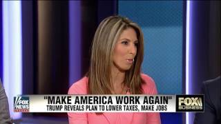 Download Business analysts react to Trump's economic plan Video