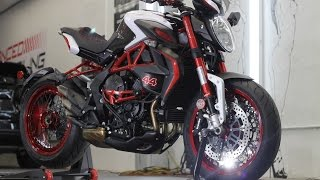 Download MV Agusta Dragster Brutale Lewis Hamilton Edition/ Ceramic Pro by Advanced Detailing Video