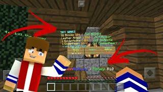 Download Minecraft PE 1.1.5/1.1.4 Servidor de SkyWars/Factions/KitPvp Com Money IGUAL PC SEM LAG Video