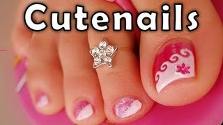Download Pedicure tips & toe nail art for perfect toenails by cute nails Video