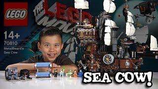 Download METALBEARD'S SEA COW - LEGO MOVIE Set 70810 - Time-lapse Build, Stop Motion, Unboxing & Review! Video