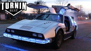 Download Back To The Future Delor....BRICKLIN?! | 1975 Bricklin SV-1 | Turnin Rust Video