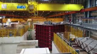 Download Fly above ProtoDUNE at CERN Neutrino Platform Video