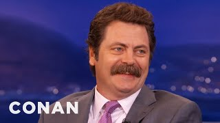 Download Nick Offerman: Manscaping Is An Abomination - CONAN on TBS Video
