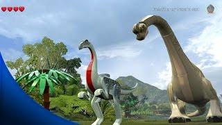 Download LEGO Jurassic World - ALL DINOSAURS FREE ROAM GAMEPLAY Video