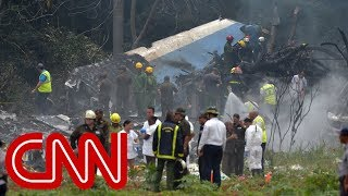 Download Plane crashes at airport in Havana, Cuba Video