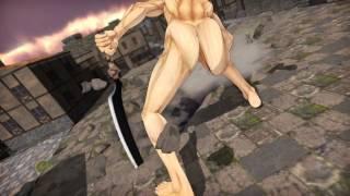 Download MMD attack on titan Mikasa VS Eren titan HD Video
