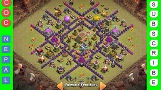 Download Clash of Clans   Town Hall Level 8 Best War/Trophy Base (v1.0) Video