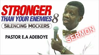 Download Pastor E.A Adeboye Sermon @ RCCG September 2018 HOLY GHOST SERVICE Video