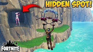 Download SECRET SPOT OUTSIDE THE MAP! - Fortnite Funny Fails and WTF Moments! #161 (Daily Moments) Video
