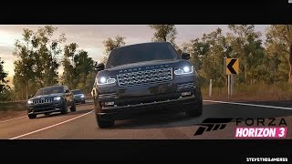 Download FORZA HORIZON 3 GAMEPLAY (Off Roading) RANGE ROVER - PC VERSION Video