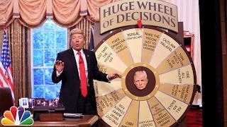 Download Trump Unveils Huge Wheel of Decisions Video
