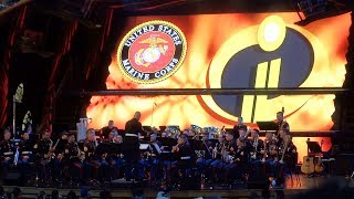 Download ″Remember Me″ from ″Coco″ and theme from ″The Incredibles″ performed by Marine Band at Disneyland Video