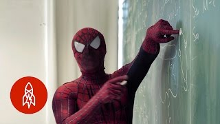 Download Hanging With the Spider-Man of the Science Department Video