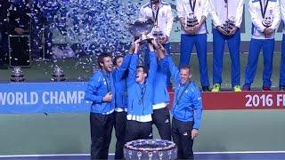 Download Histórico y conmovedor: Argentina campeón de la Davis Video