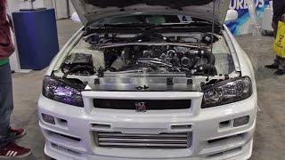 Download SEMA 2016 Highlights: Toshi Hayama's R34 GTR Video