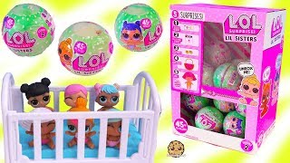 Download Color Changing LOL Surprise Lil Baby Sisters - Blind Bag Toys Video Video