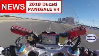 Download 2018 Ducati PANIGALE V4 / Top Speed, Acceleration, V4 engine, Brutal Sound, Akrapovic, Termignoni Video