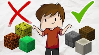 Download Top 10 BEST and WORST blocks in Minecraft for Building Houses Video