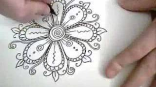 Download Flowers are Fun! - Ink Drawing Video