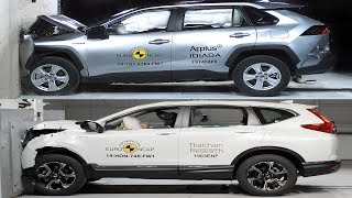 Download 2019 Toyota RAV4 vs 2019 Honda CR-V – Crash tests Video