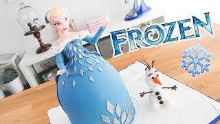 Download FROZEN ❄️ Pastel / Torta decorada de Elsa y Olaf ❄️ Tan Dulce Video