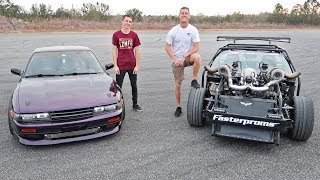 Download Drifting with Cleetus! (1100HP Twin Turbo LS) Video