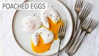 Download POACHED EGGS | how to poach an egg (perfectly) Video